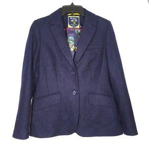 Boden British Tweed by Moon 100% wool blazer